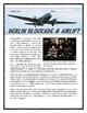 Cold War - Berlin Airlift / Blockade (Reading, Questions a