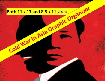 Cold War Graphic Organizer:  Asia   11 x 17 and 8.5 x 11 w
