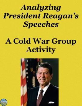 President Reagan Speech Analysis Activity