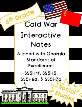 Cold War Interactive Notebook