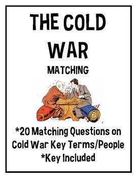 Cold War Matching Overview, Communism, Soviet Union