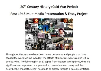 Cold War Multimedia Project