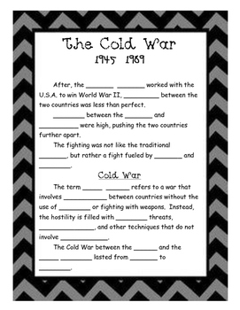 Cold War Notes Pages