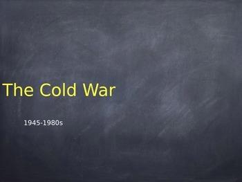Cold War Presentation (Power Point File)
