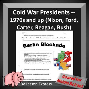 Cold War Presidents -- 1970s and up (Nixon, Ford, Carter,