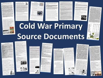 Cold War Primary Source with guiding Questions: Reagan's S