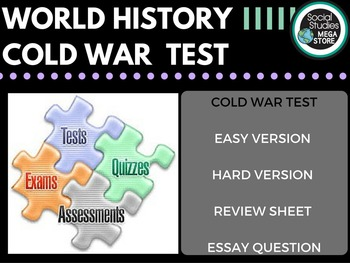 Cold War Test and Quizzes