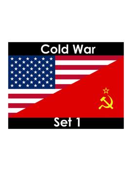 Cold War Vocabulary Builder Part 1