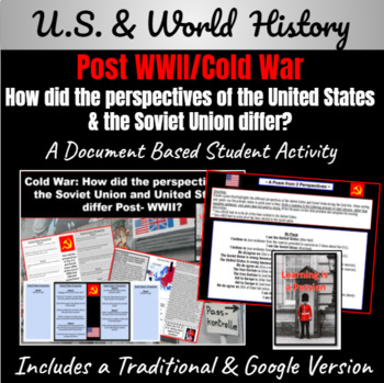 Cold War: How did the U.S. and S.U. perspectives differ Po