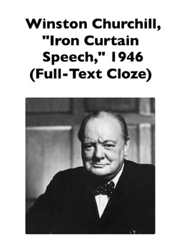 "Cold War: Winston Churchill's ""Iron Curtain Speech"" (Full-"