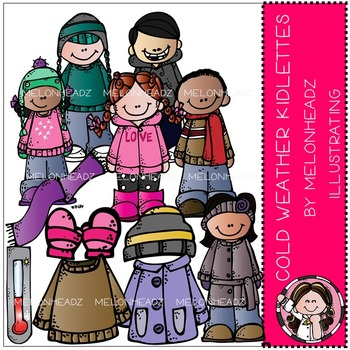 Melonheadz: Cold Weather clip art - Kidlettes