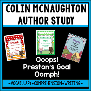 Colin McNaughton Author Study with Fractured Fairy Tales