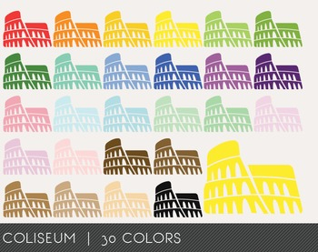 Coliseum Digital Clipart, Coliseum Graphics, Coliseum PNG
