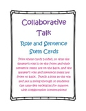 Collaboration Listener and Speaker Cards