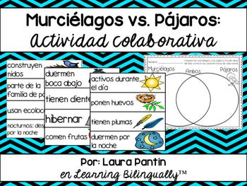 Collaborative Activity: Bats vs. Birds (in Spanish)