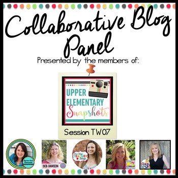 Collaborative Blog Panel: Orlando 2016 TpT Conference Handout