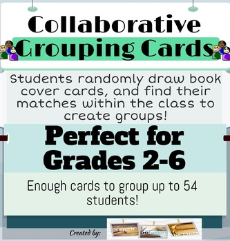 Collaborative Grouping Cards for Creating Groups- Elementa