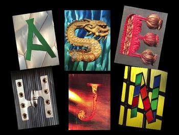 Collage Alphabet Clip Art