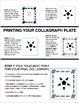 Cardboard Collagraph Printmaking Project- Printable Tutori