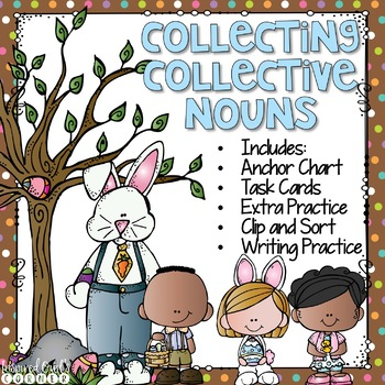 Collective Nouns Task Cards and More