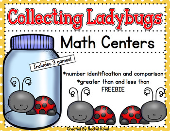 Collecting Ladybugs - Number identification and comparison