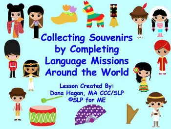 Collecting Souvenirs by Completing Language Missions Aroun