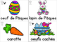 Collection Mur de mots - Pâques (Easter French Word Wall Cards)