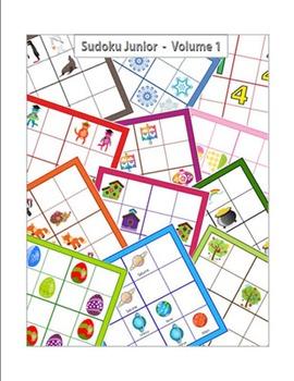 Collection de Sudoku 4x4 en images