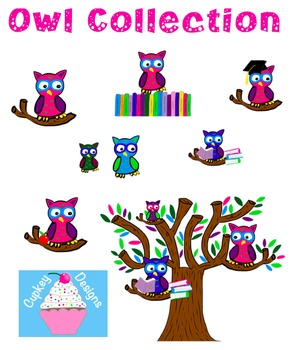Collection of Owl Clipart