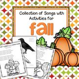 Fall Songs wih Activities