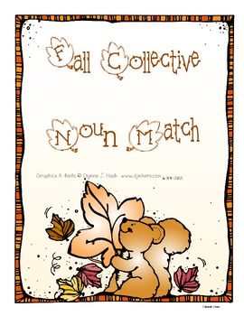 Collective Noun Fall Matching Center