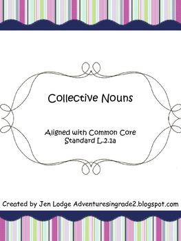 Collective Noun Pack ~ Common Core Aligned L.2.1a