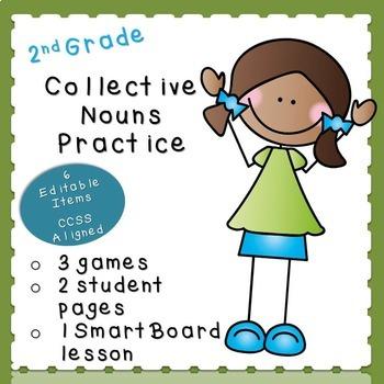 Collective Nouns Practice (second grade)