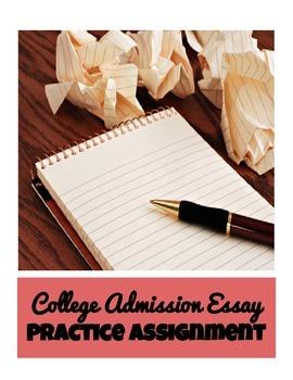 College Admission Essay Practice