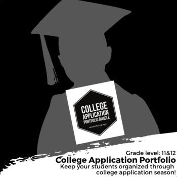 College Application Season Bundle