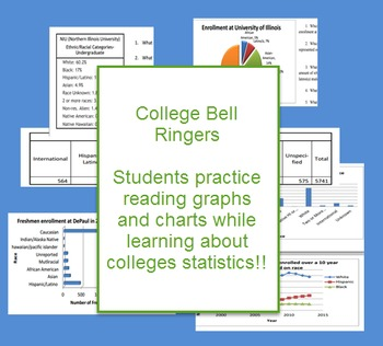 Science: College graphs/tables BELL RINGERS