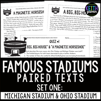 College Football Stadiums Paired Texts: Michigan Stadium a