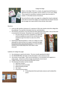 College One-Pager (AVID)
