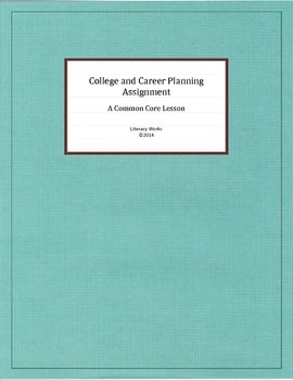 College and Career Planning Assignment