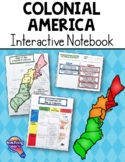 Colonial America Interactive Notebook 5th Grade Coordinate