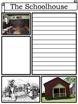 Colonial America Notebooking Pages
