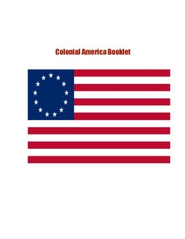 Colonial America Research Booklet