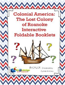 Colonial America: The Lost Colony of Roanoke Interactive F