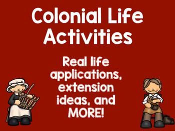 Colonial Taxes Activities