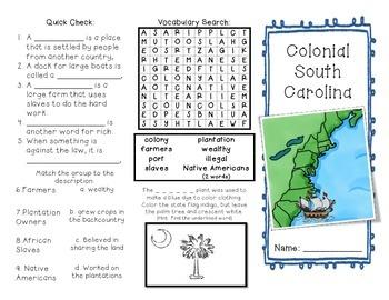 Colonial South Carolina Brochure
