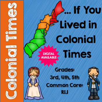 …If You Lived in Colonial Times by Ann McGovern Questions-