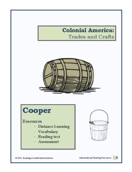 Colonial Trades Lesson 12 - Cooper