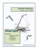 Colonial Trades Lesson 6 - Shipwright