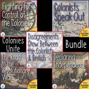 Colonies Unite Interactive Notebook Bundle