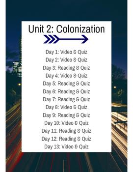Colonization Flipped Learning